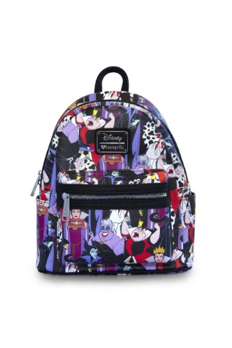 700bb2352cb Loungefly - Disney Villains Mini Faux Leather Backpack