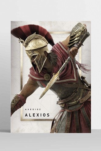 Assassins Creed - Poster Odyssey Alexios