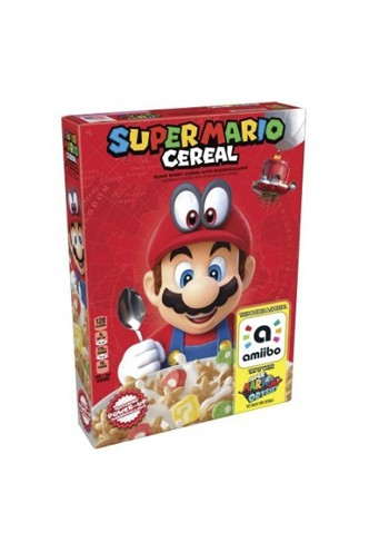 Kellogg's Super Mario Breakfast Cereal