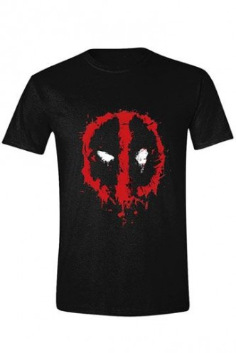 Deadpool - Camiseta Splatter