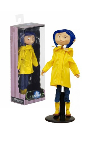 Coraline In Rain Coat Bendy Fashion Doll Funko Universe Planet Of Comics Games And Collecting