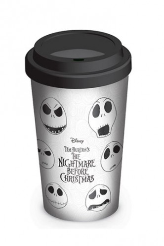 Nightmare before Christmas - Travel Mug Faces of Jack