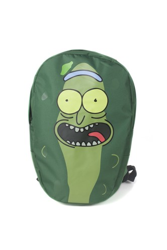 Rick And Morty - Pickle Rick Shaped Backpack