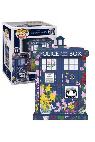 "Pop! TV: Doctor Who - TARDIS 6"" Clara Memorial"