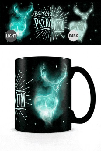 Harry Potter - Glow In The Dark Mug Expecto Patronum