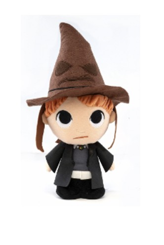 SuperCute Plushies: Harry Potter - Ron y Sombrero Seleccionador