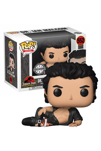 Pop! Movies: Jurassic Park - Dr. Ian Malcolm Exclusivo