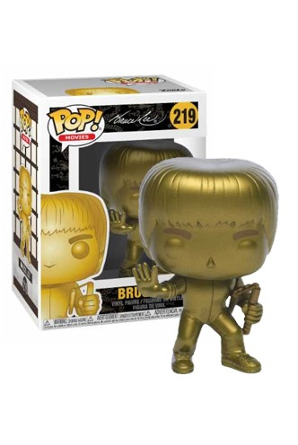 Pop! Movie: Game of Death - Bruce Lee - Gold Exclusiva