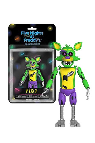 Action Figure: Five Night At Freddy's Blacklight - Foxy Exclusive