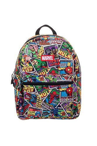 Marvel Mochila Card AOP Brick Logo