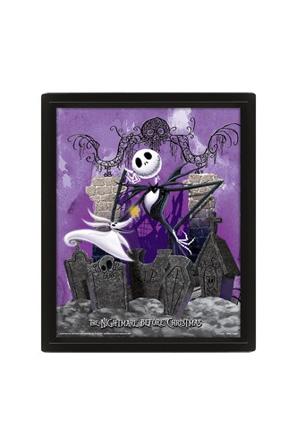 Nightmare Before Christmas - 3D Graveyard
