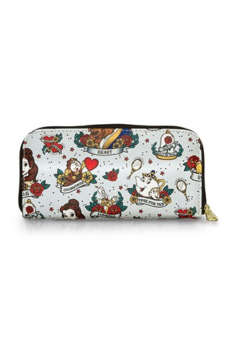Loungefly - Cartera Disney: Bella Tattoo