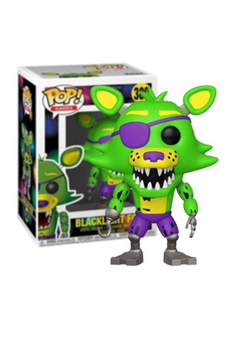 Pop! Five Nights at Freddy's - Blacklight Foxy Exclusivo