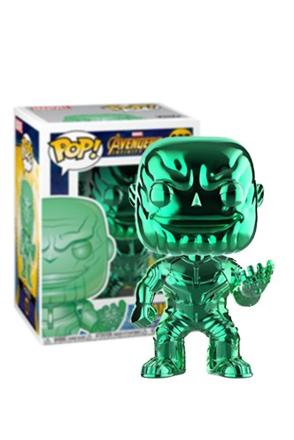 Pop! Marvel: Infinity War - Thanos Chrome Verde Exclusivo