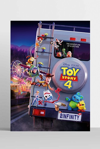 Poster Disney: Toy Story 4 - To Infinity