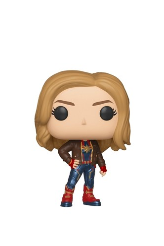 Pop! Marvel: Captain Marvel Exclusiva