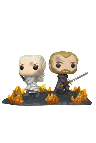 Pop! Moment: Game of Thrones - Daenerys & Jorah w/Swords