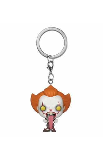 POP Keychain: IT: Chapter 2- Pennywise w/ Dog Tongue