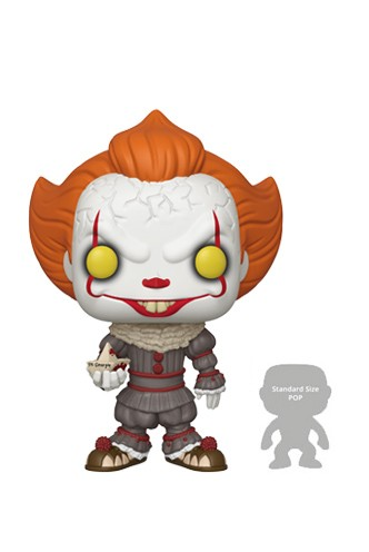 Pop! Movie: It - Pennywise w/Boat 10""
