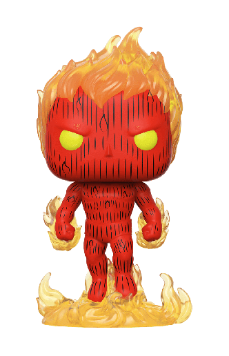 Pop! Movies: Los Cuatro Fantasticos - Human Torch