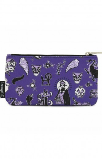 Loungefly - Disney Villains Pencil Case
