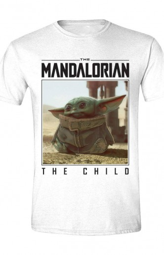Star Wars: Camiseta The Mandalorian The Child Photo