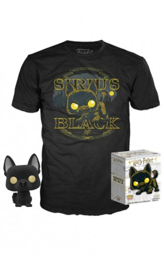 Pop Tee! Harry Potter T-shirt and Minifigure Sirius Black Set