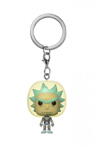 Pocket Pop! Keychain: Rick y Morty - Rick Space Suit