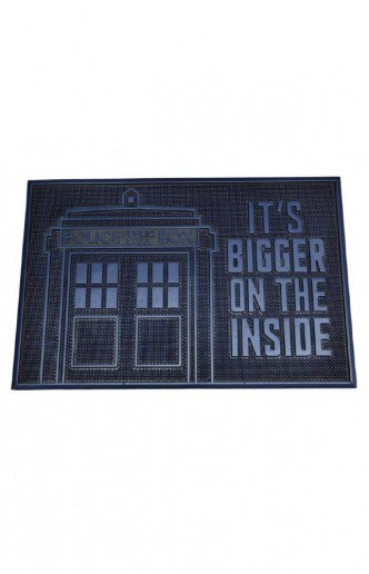 Doctor Who - Felpudo It's Bigger on the Inside