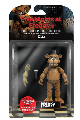 "Figura articulada - Five Nights at Freddy´s ""Freddy"""