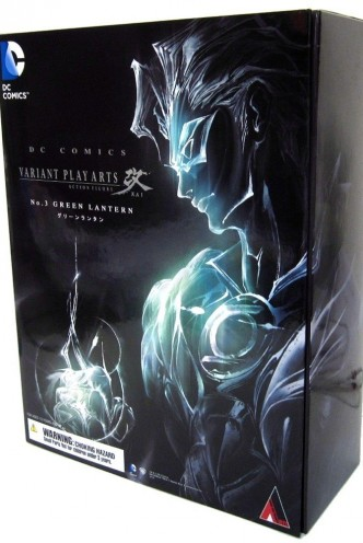 "Figure - Play Arts Kai - DC COMICS ""Green Lantern"" 27,5cm."