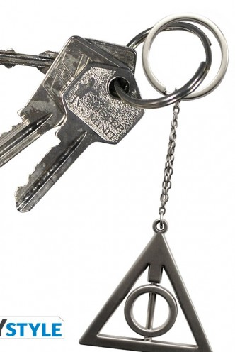 "Harry Potter - Keychain 3D ""Deathly Hallows"""