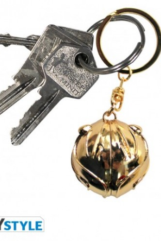 "Harry Potter - Keychain 3D ""Golden snitch"""