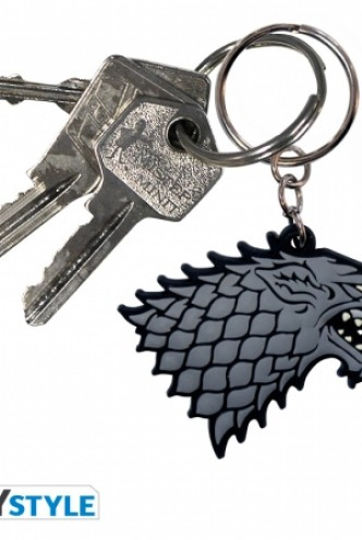 GAME OF THRONES Keychain Stark PVC