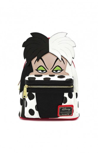 Loungefly - One Hundred and One Dalmatians - Mini Cruel de Vil Backpack