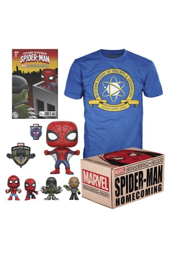 Marvel Pack - Collector Corps Box Spider-Man Homecoming