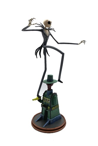Nightmare Before Christmas - Gallery Oogies Lair Jack  Figure