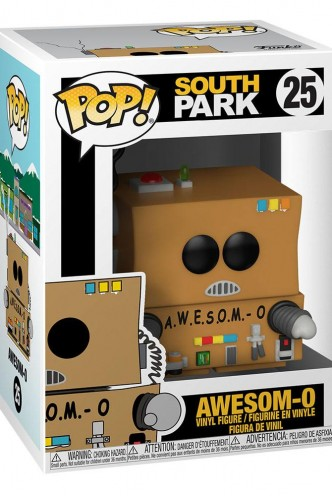 Pop! Animation: South Park -Awesom-O