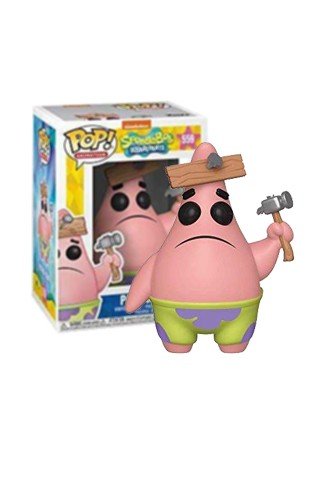 Pop! Animation: Sponge Bob - Patrick w/ Board