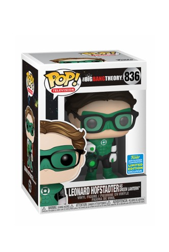 Pop! Big Bang Theory - Leonard in Green Lantern Costume SDCC19