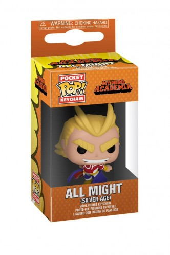 Pop! Keychain: My Hero Academia - All Might (Silver Age)