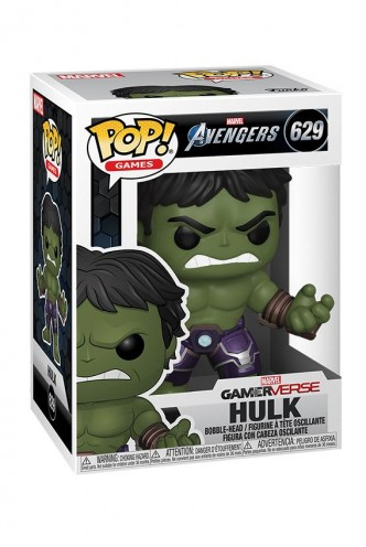 Pop! Marvel: Avengers Game - Hulk (Stark Tech Suit)