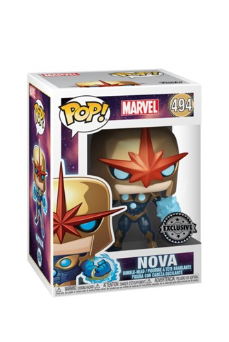 Pop! Marvel: Comics - Nova Metallic