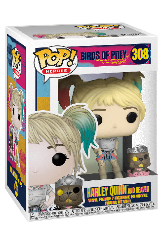 Pop! Movies: Birds of Prey - Harley Quinn & Beaver
