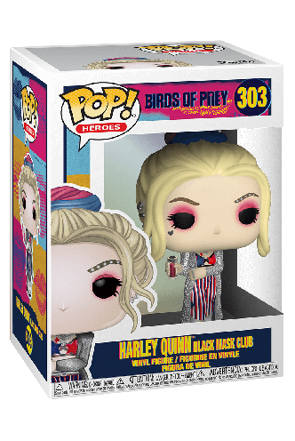 Pop! Movies: Birds of Prey - Harley Quinn (Black Mask Club)