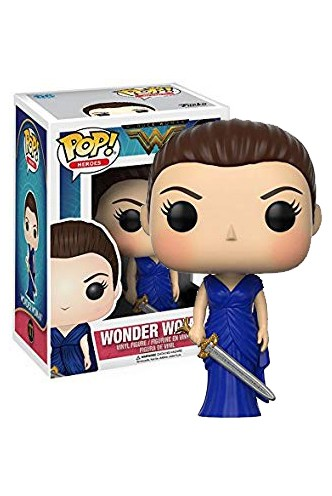 Pop! Movies: Wonder Woman - Wonder Woman in Blue Gown Exclusiva
