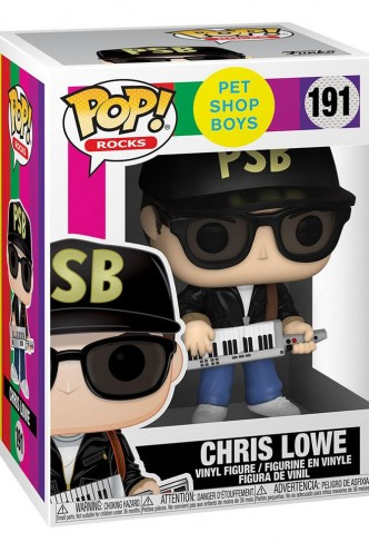Pop! Rocks: Pet Shop Boys - Chris Lowe