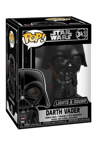 Pop! Star Wars - Electronic Darth Vader (Light and Sound)