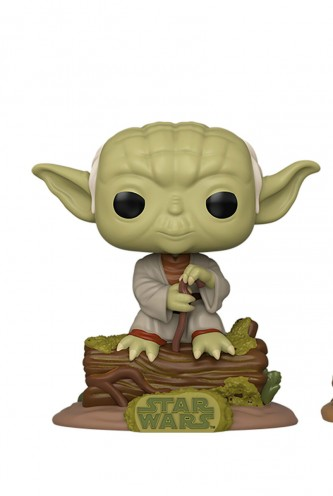 Pop!Town: Star Wars:  Episode V - Dagobah Yoda w/Hut