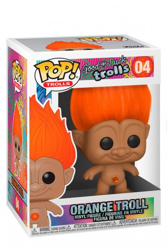 Pop! Trolls - Orange Troll